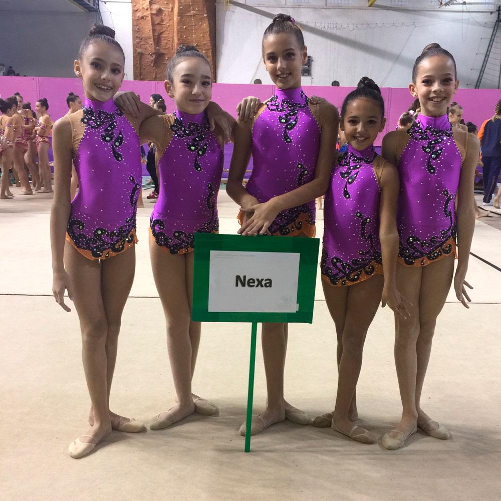 podium campeonato granada gimnasia ritmica cdnexa